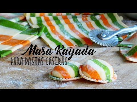 Pastas Caseras al Huevo Nivel 2 / Cómo Teñir y Rayar Masa