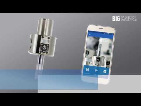 Benutzung des EWE 2-152 mit der BIG KAISER App
