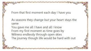 Charlotte Church - From My First Moment Lyrics
