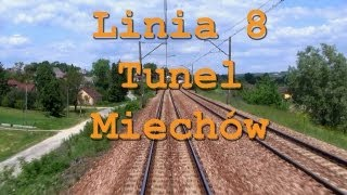 preview picture of video 'Train ride / Przejazd pociągiem TLK Tunel - Miechów, linia 8'