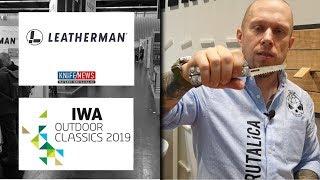 выставка IWA 2019 -  Leatherman обзор новинок