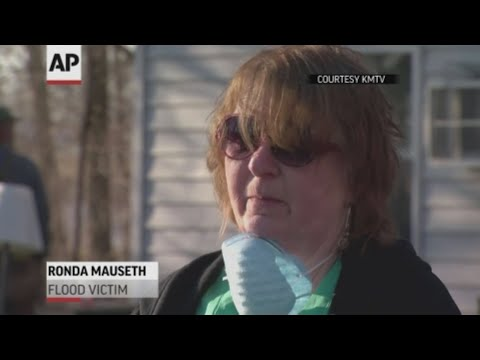 Residents in parts of the Midwest are trying to pick up after their homes and belongings were damaged by flood waters. (March 21)