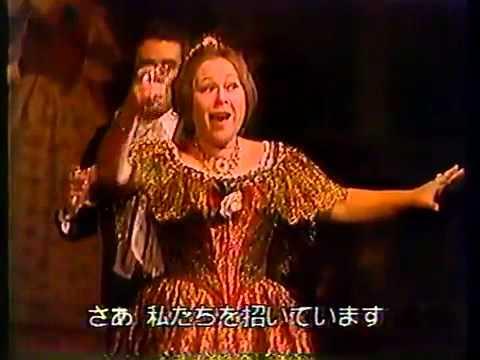 椿姫 乾杯の歌 ホセ・カレーラス & レナータ・スコット   1973