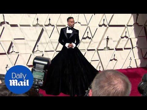 """Американский актер Билли Портер на церемонии """"Оскар-2019"""" в платье"""