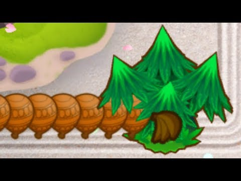 Can Wall Of Trees Actually Eat Up INFINITE Bloons? (Bloons
