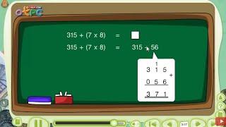 สื่อการเรียนการสอน การบวก ลบ คูณ หารระคน ป.3 คณิตศาสตร์