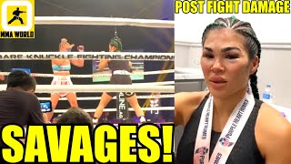 MMA Community Reacts to the Highly Entertaining Fight between Paige VanZant vs Rachael Ostovich,TJ