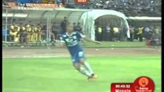 Persib Bandung Vs Arema 32 All Goals FULL MATCH HIGHLIGHT  13 April 2014