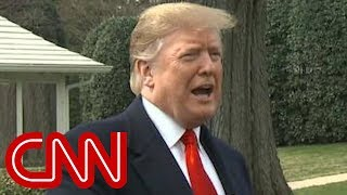 Trump: I don't mind if public sees Mueller report