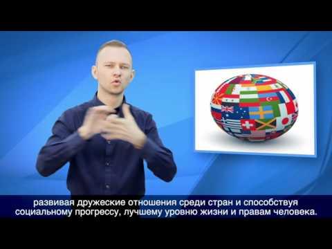 Конвенция о правах инвалидов на РЖЯ (1 часть)