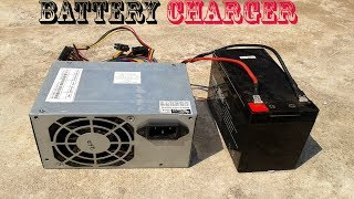 Download Video DIY Computer Power Supply To Battery Charger MP3 3GP MP4
