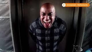 Голландец изобрел кабинку тестирования на COVID: крик вместо мазка