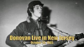 Donovan live in Concert 1965