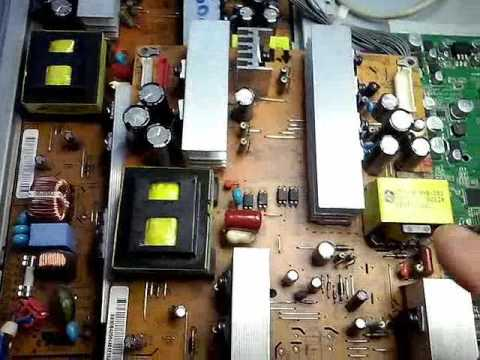 Reparacion televisor lcd LG de 32 pulgadas