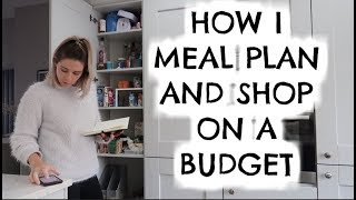 HOW I MEAL PLAN | £60 FAMILY OF FOUR WEEKLY FOOD HAUL | KERRY WHELPDALE
