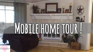 Mobile Home Tour / Double Wide 3 Bed 2 Bath .