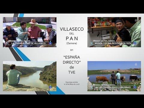 """Villaseco del Pan (Zamora), en reportaje de """"España Directo"""""""