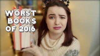 WORST BOOKS OF 2016