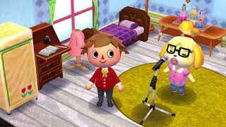 Isabelle  - (Animal Crossing) - Animal Crossing Isabelle Singing HD