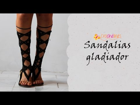 sandalias gladiador