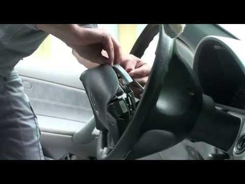 Mercedes W203.Airbag ausbauen,dismantle,Lenkrad o. Tempomat erneuern.Dummer Fehler der Elektronik.