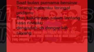 Tipe X - Salam Rindu Lirik