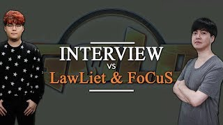 """Interview at GCSW 17 with FoCus and LawLiet: """"FoCuS is bad man."""""""