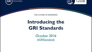 Introducción a los estándares GRI