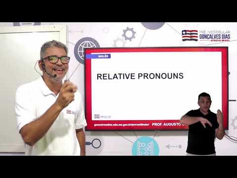 Aula 03 | Relative Pronouns - Parte 01 de 03 - INGLÊS