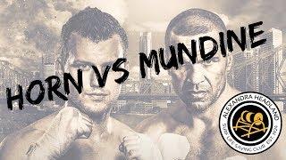 Horn vs Mundine
