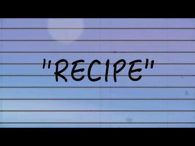 Recipe - Chris Haze