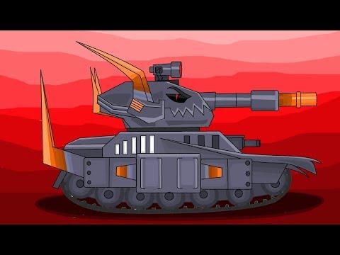 Морок - Брат Левиафана - Мультики про танки  | рисуем танки