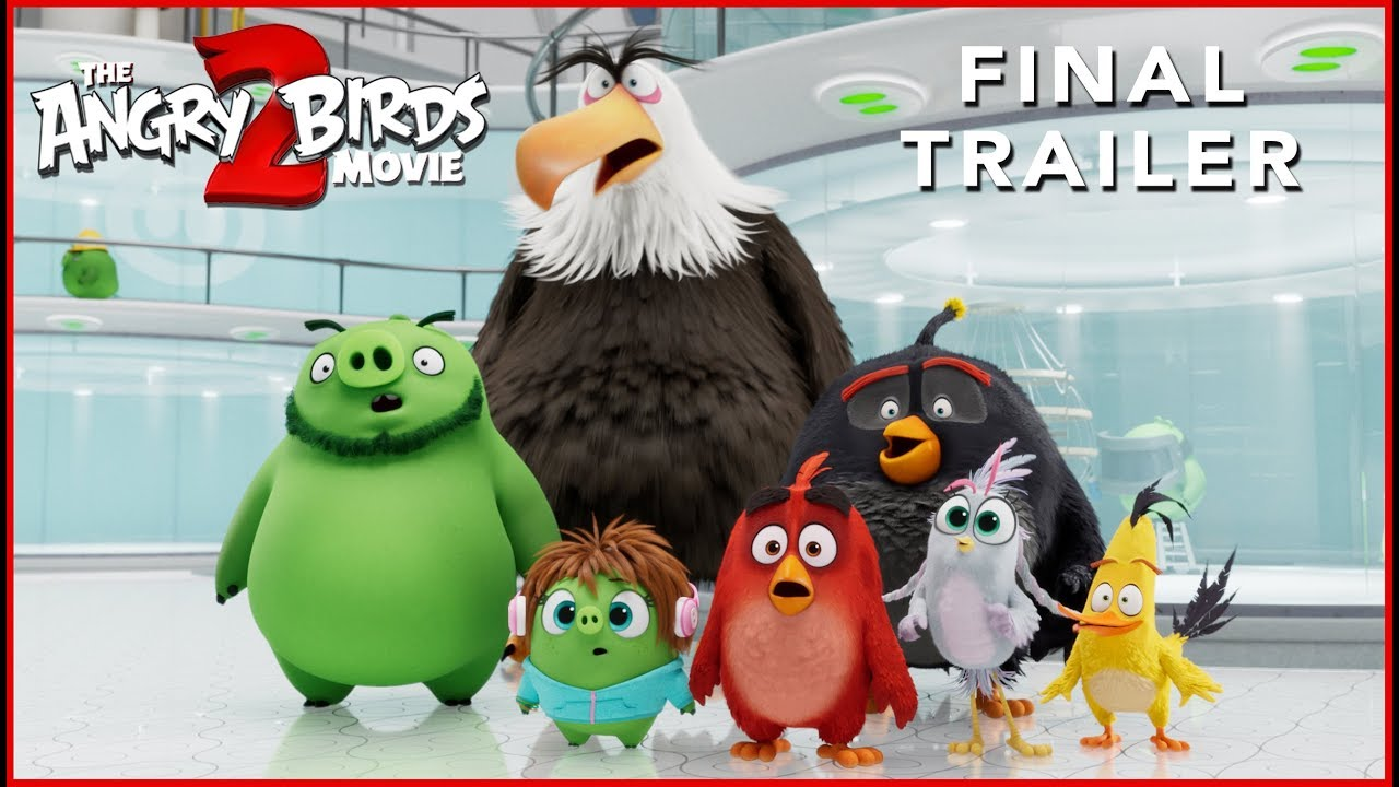 Video trailer för THE ANGRY BIRDS MOVIE 2 - Final Trailer