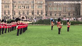 preview picture of video 'Ottawa, Trooping the Colour (uncut version !!!) - Canada HD Travel Channel'