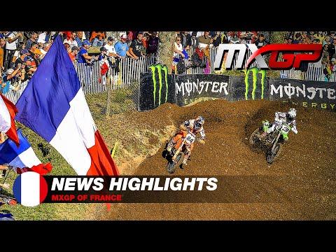 News Highlights   MXGP of France 2021 #Motocross
