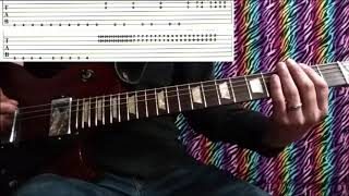 How To Play   HOUSE OF GLASS W. Tabs   CAGE THE ELEPHANT Guitar Lesson