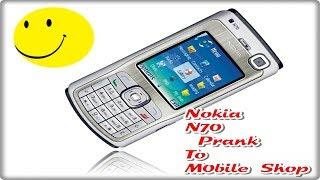 Nepali prank - Nokia N70 Prank To Mobile Shop