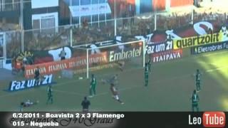 Flamengo Gols de  Fevereiro de 2011 - Trilha Racionais Mc's Jesus Chorou Instrumental