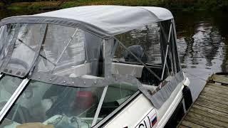 Пошив и ремонт тентов для лодок самара