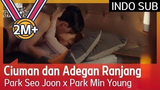 Ciuman dan Adegan Ranjang Park Seo Jun x Park Min Young #WhatsWrongwithSecretaryKim 🇮🇩INDO SUB🇮🇩