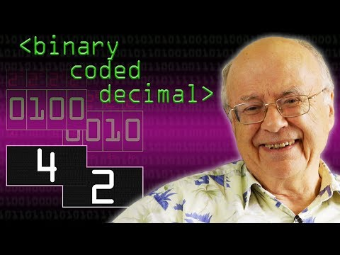 42 and Binary Coded Decimal – Computerphile