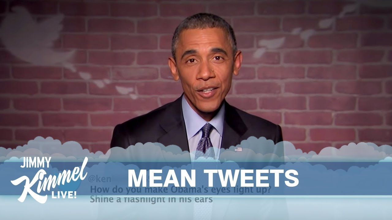 Watching Obama Read Mean Tweets About Himself Is So Good