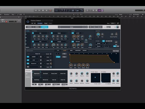 Logic Pro X 10.2: Alchemy Synth