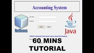How to create Accounting Software in Java using Netbeans 8.2 just in 60 Minutes