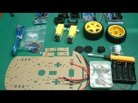 Ausgepackt & Angepackt - Roboterbausatz mit einer L298N Motorsteuerung (Banggood)
