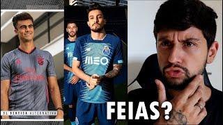 BR REAGINDO A CAMISOLA DO FC PORTO E SL BENFICA 2019/2020