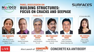 LIVE | Panel Discussion on - BUILDING STRUCTURES: FOCUS ON CRACKS AND SEEPAGES | SURFACES REPORTER