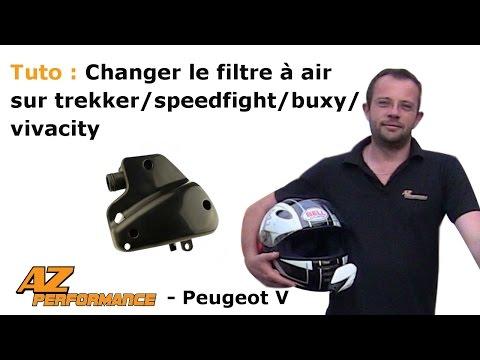 Changer ou nettoyer la boîte à air de son Speedfight 1-2 / Trekker / Buxy / ...