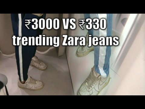 I Made ₹200 Jeans Look Like ₹3000 Zara Trending Jeans | Diy