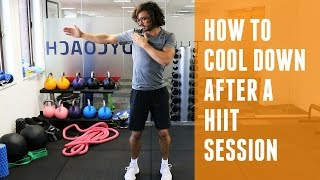 How To Cool Down After A HIIT Session | The Body Coach